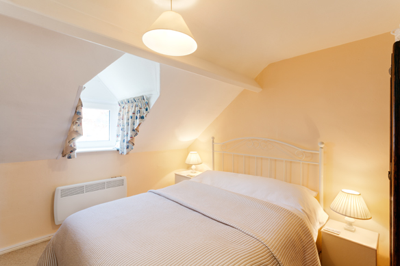 Master bedroom at 37 Cliff Street Whitby